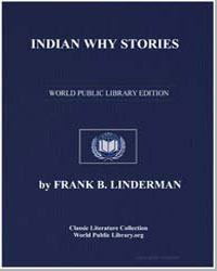 Indian Why Stories by Linderman, Frank Bird