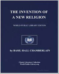 The Invention of a New Religion by Chamberlain, Basil Hall