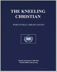 The Kneeling Christian by