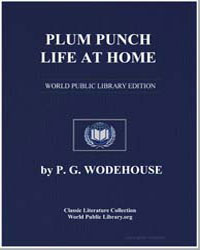 Plum Punch : Life at Home by Wodehouse, Pelham Grenville