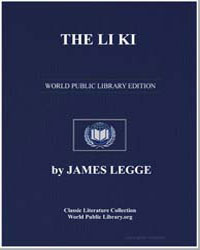 The Li Ki by Legge, James