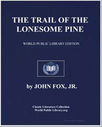 The Trail of the Lonesome Pine by Fox, John, Jr.
