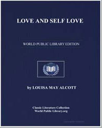 Love and Self Love by Alcott, Louisa May
