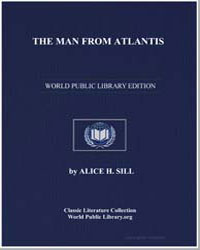 The Man from Atlantis by Sill, Alice H.