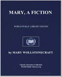 Mary, A Fiction by Shelley, Mary Wollstonecraft