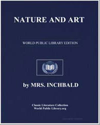 Nature and Art by Inchbald, Elizabeth