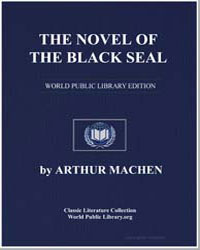 The Novel of the Black Seal by Machen, Arthur