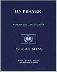 On Prayer by Tertullian