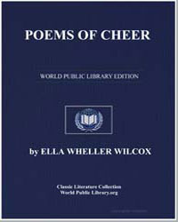 Poems of Cheer by Wilcox, Ella Wheller