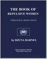 The Book of Repulsive Women by Barnes, Djuna