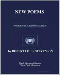 New Poems by Stevenson, Robert Louis