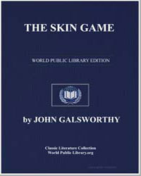 The Skin Game by Galsworthy, John