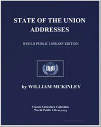 State of the Union Addresses by Mckinley, William