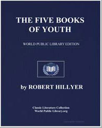 The Five Books of Youth by Hillyer, Robert