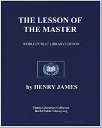 The Lesson of the Master by James, Henry
