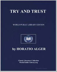 Try and Trust by Alger, Horatio, Jr.