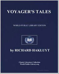Voyager's Tales by Hakluyt, Richard
