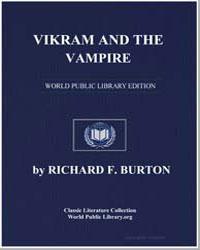 Vikram and the Vampire by Burton, Richard Francis, Sir