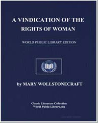 A Vindication of the Rights of Woman by Shelley, Mary Wollstonecraft