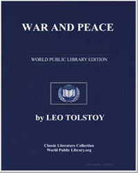 War and Peace by Tolstoy, Leo