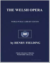 The Welsh Opera by Fielding, Henry