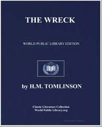 The Wreck by Tomlinson, H. M.