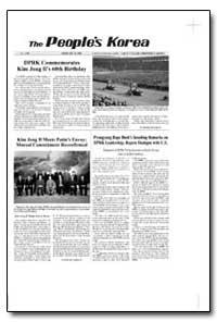 The People's Korea Dprk Commemorates Kim... by Jong Il, Kim