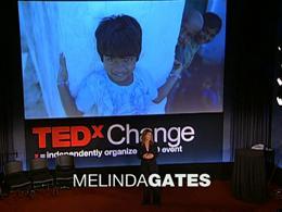 TEDx Projects Change : Melinda French Ga... by Melinda French Gates